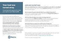 Tarjeta postal de consejos sobre asbesto para contratistas – solo en inglés