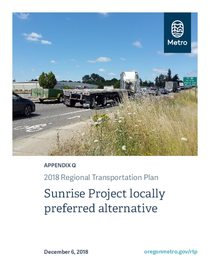 Appendix Q - Sunrise Project locally preferred alternative