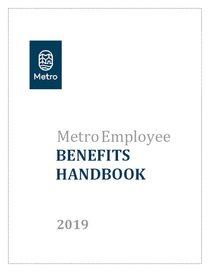 Metro employee benefits handbook