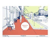 Pedestrian realm