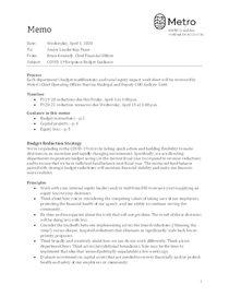 Budget guidance document