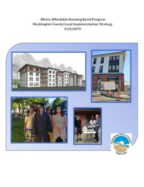 Washington County Housing Authority's local implementation strategy