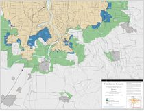 Urban and rural reserves map: Clackamas County