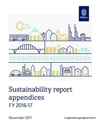 2016-17 Sustainability Report Appendices