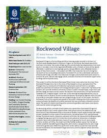 Rockwood Village