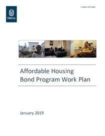 Affordable Housing Bond Program Work Plan