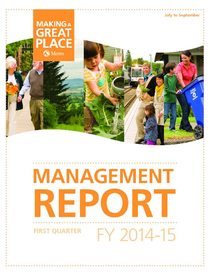 2014-15 quarter 1 management report