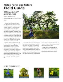 Canemah Bluff Field Guide