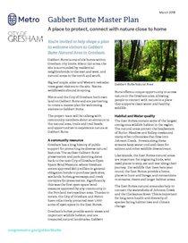 Gabbert Butte project fact sheet