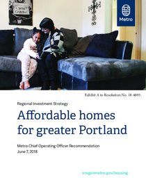 Affordable homes for greater Portland: Metro housing bond framework