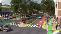 Regional street rendering