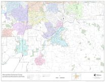 Jurisdictional boundaries map: Clackamas County