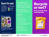 Recycle or Not brochure – English