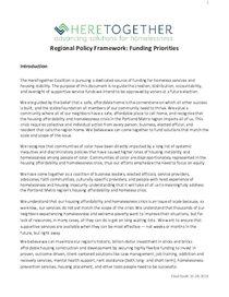 HereTogether regional policy framework