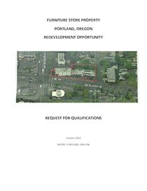 Furniture store property | Request for Qualifications