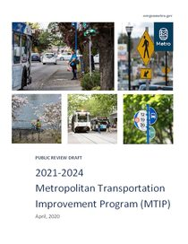 Public review draft: 2021-24 MTIP