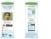Grow Smart Grow Safe bookmark