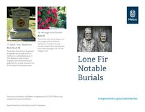 Lone Fir Notable Burials Tour