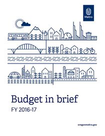 FY 2016-17 budget in brief