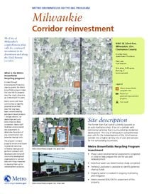 Brownfields profile: Milwaukie