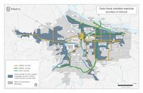 Task Force Corridor Exercise: Corridors of Interest and Equity Focus Areas