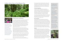 Gabbert Butte Nature Park master plan - executive summary