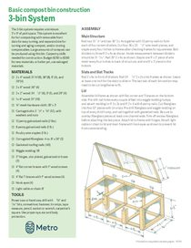 Compost bin construction plans
