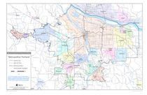 Jurisdictional Boundaries Maps Metro - Oregon road map with cities