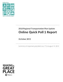 Online quick poll 1 report
