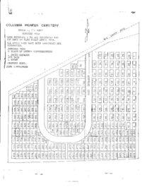 Columbia Pioneer Cemetery map