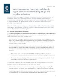 Fact sheet for collection companies