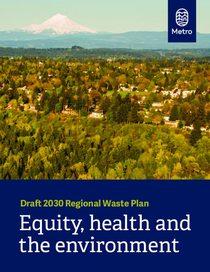 Draft 2030 Regional Waste Plan