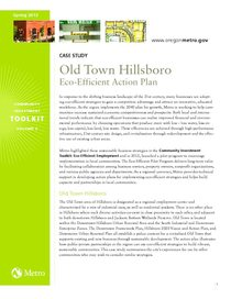 Old Town Hillsboro case study