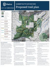 Proposed trail plan
