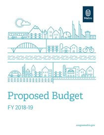 FY 2018-19 proposed budget