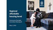 Housing Oversight Committee presentation