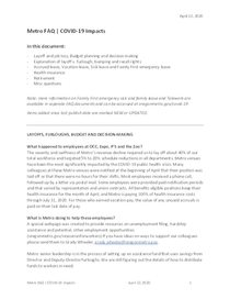 FAQs: General for all employees