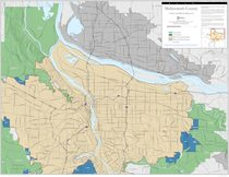 Urban and rural reserves map: Multnomah County