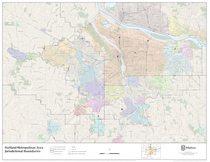 Jurisdictional boundaries maps | Metro on