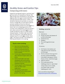 Winter mulching and light recycling tips
