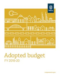 FY 2019-20 adopted budget