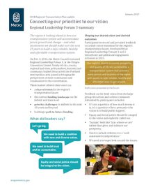 Regional Leadership Forum 3 summary
