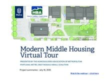 Missing Middle Housing projects