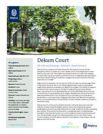 Dekum Court