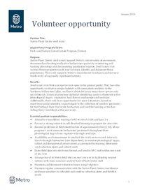 2019 NPC Seed Scout Opportunity Description