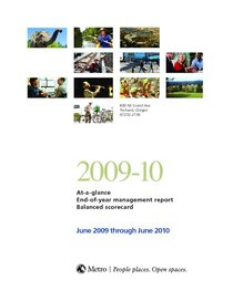 2009-10 end-of-year balanced scorecard report