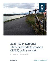 2022-24 Regional Flexible Funds Allocation policy report