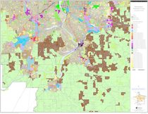 Generalized zoning map: Clackamas