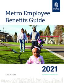 Metro employee benefits handbook