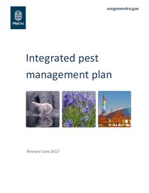 2017 Integrated pest management plan
